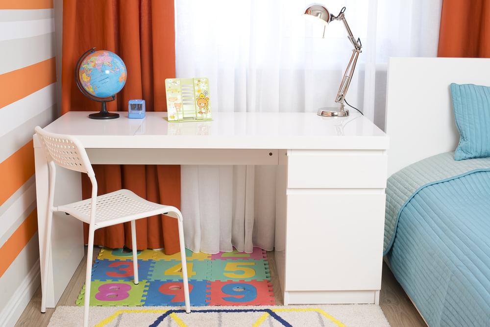 Aménager un bureau pour enfant